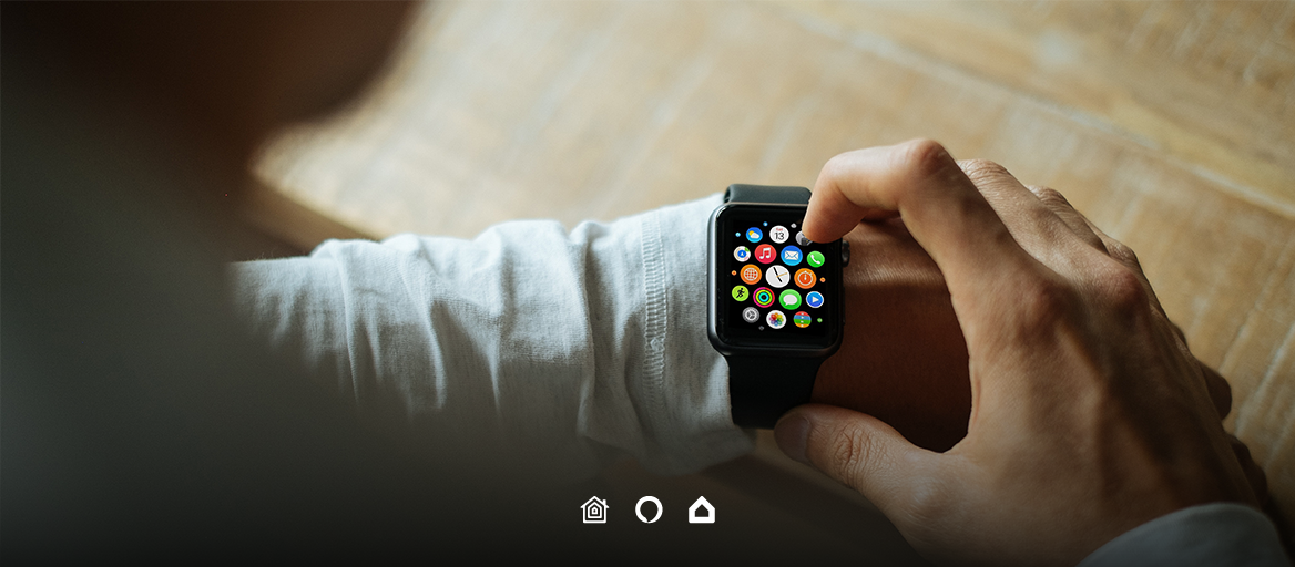 Control your Loxone or KNX home from your smartwatch. Anywhere, anytime.