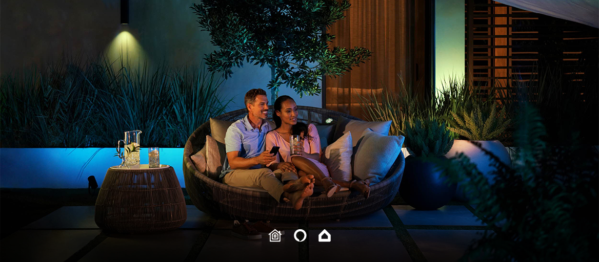 New Philips Hue Outdoor: Integrate it into your Loxone or KNX smart home
