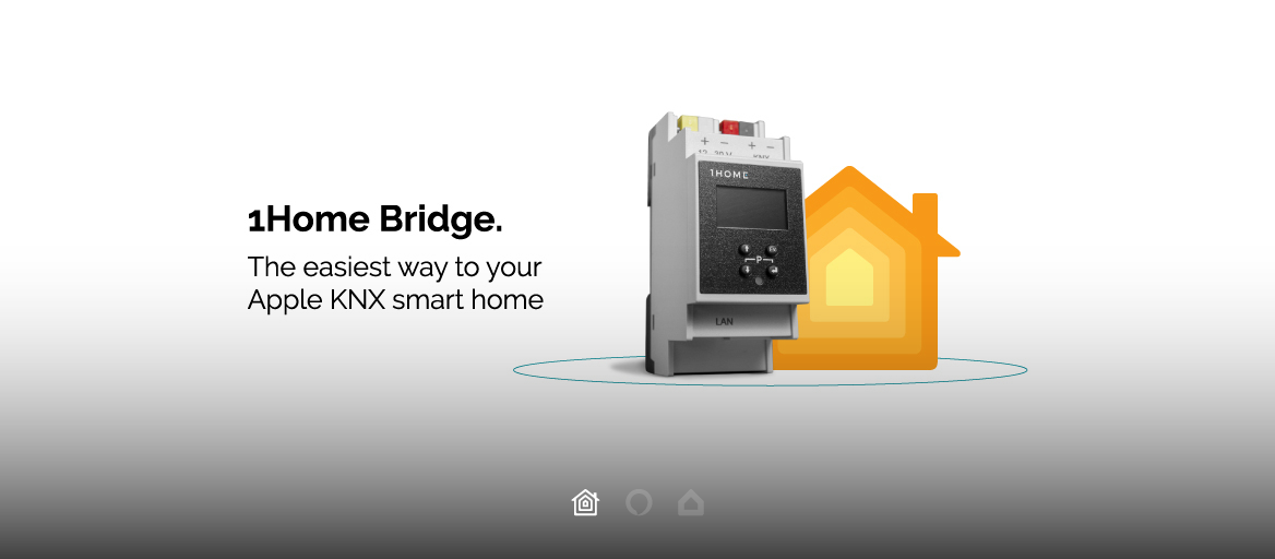 1Home Bridge: The easiest way to Apple KNX smart home